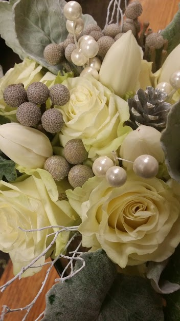 Winter Bouquet with Pine Cones