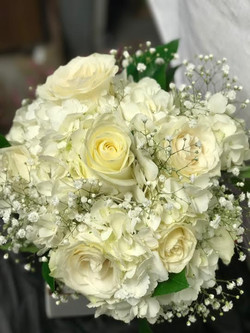 Roses and Babys Breath