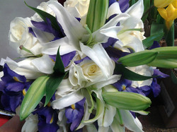 White Lily Cascade