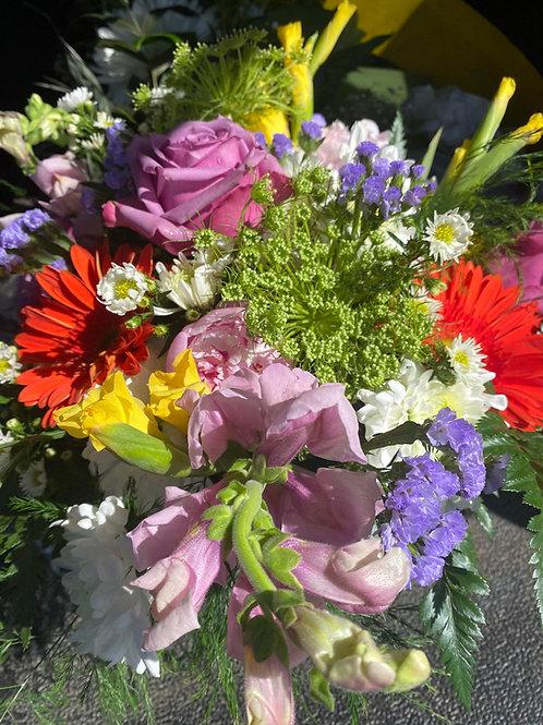 Colorful Short Vase