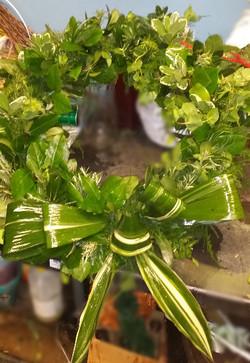 All Greens Wreath $100.00