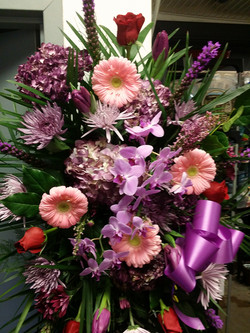 7) Standing Spray Orchids $250.00