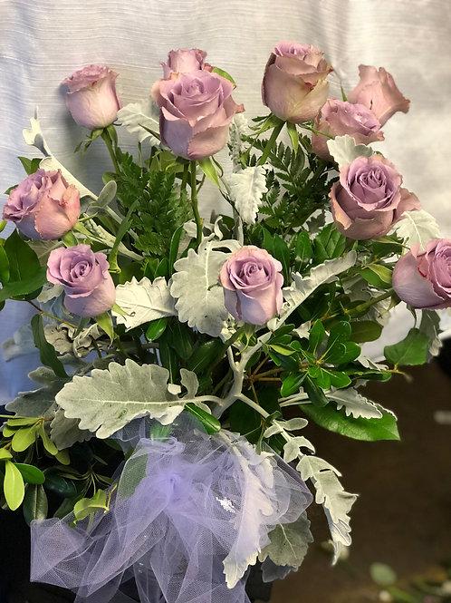 Lavender Lovely Vase