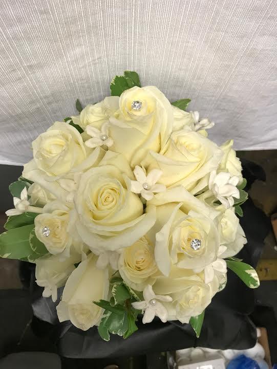 Roses and Stephanotis