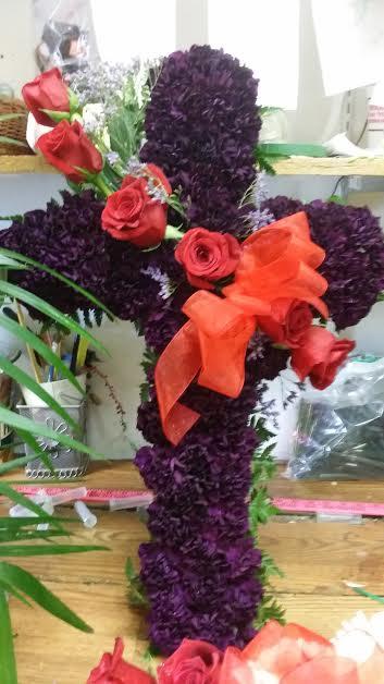 """Purple Cross 24"""" $275.00"""