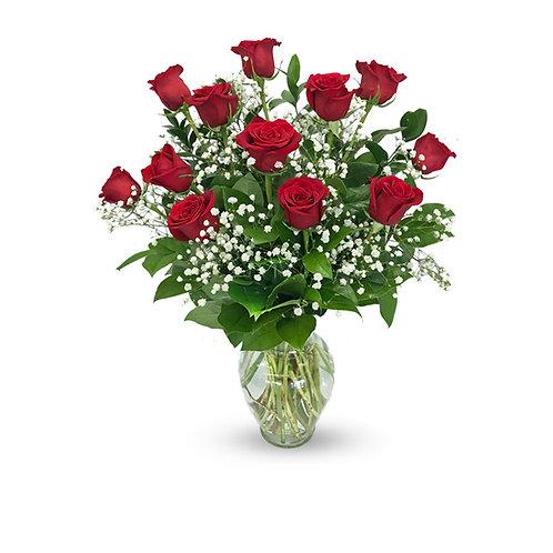 Dozen Long Stem Rose