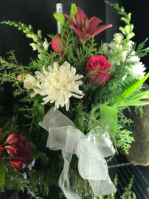 Holiday Cheer Vase