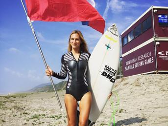 Ира Кособукина о морозе, китах и сёрфинге в Сочи