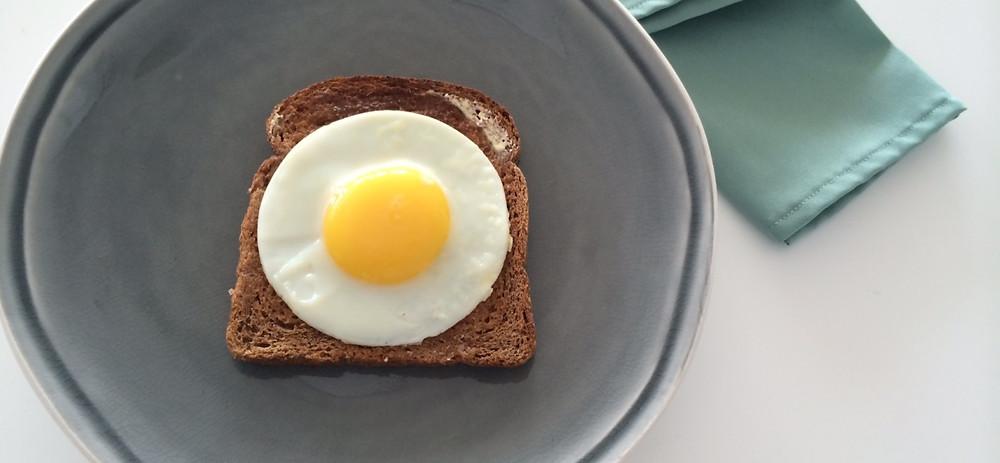 За час до серфинга - белковый завтрак