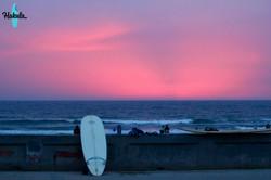 закат в Сан Диего