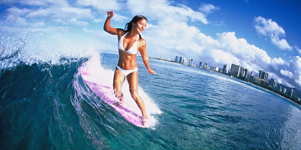 серфинг - это спорт, а спорт - это жизнь!