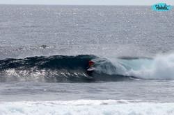 серфинг на споте Клауд9, Филиппины