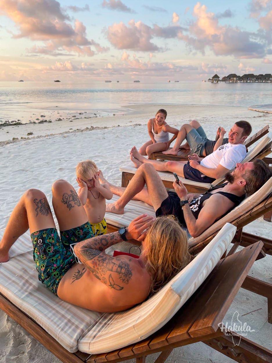 Трёхмесячный кэмп на Мальдивах