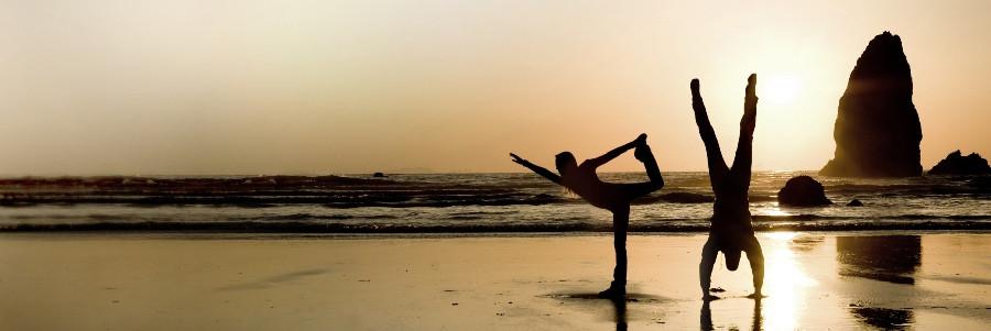 баланс в йоге и серфинге