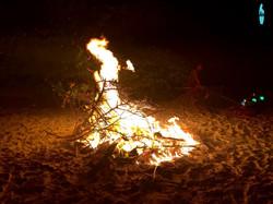 огонь на пик нике