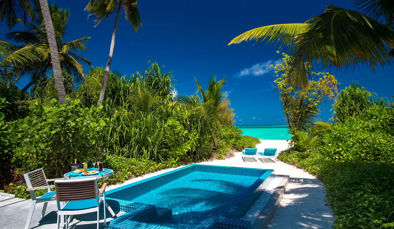 Beach Pool Villa with Jacuzzi
