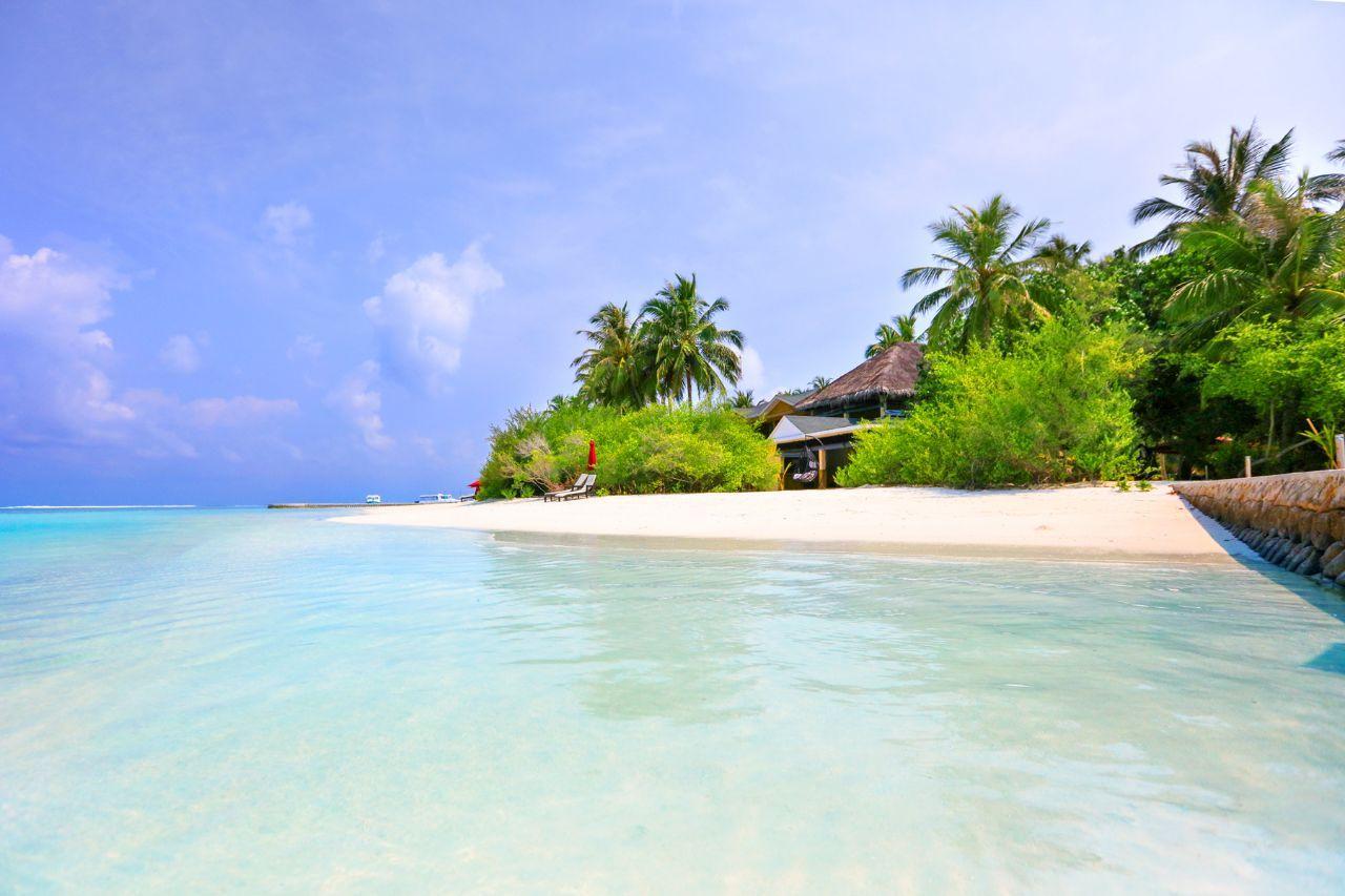 Частный пляж