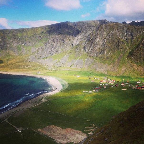 серф трип в Норвегию на фьорды