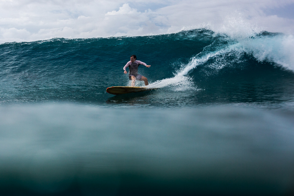 Серфинг на Мальдивах - только в кайф!