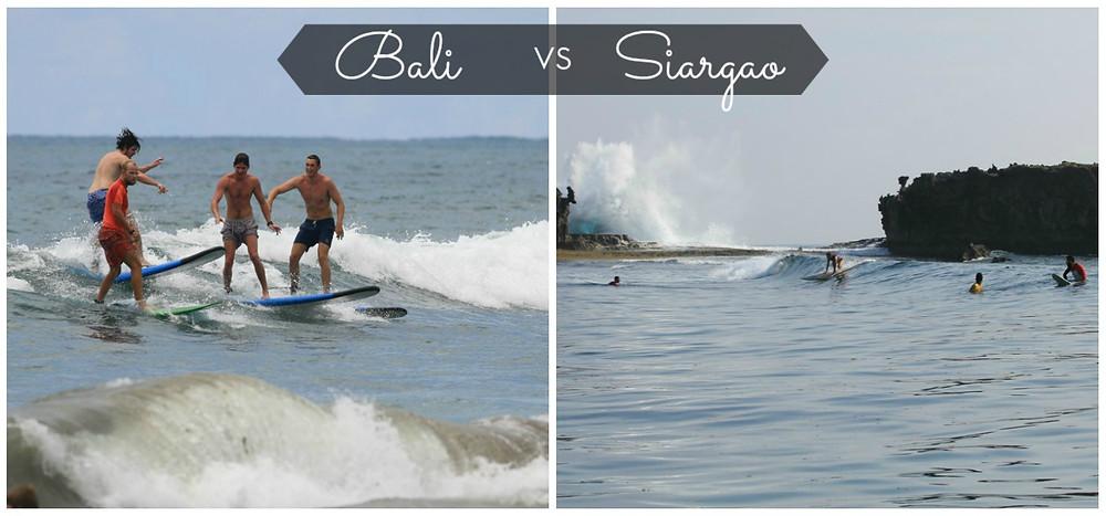 Серфинг на Бали и Сиаргао