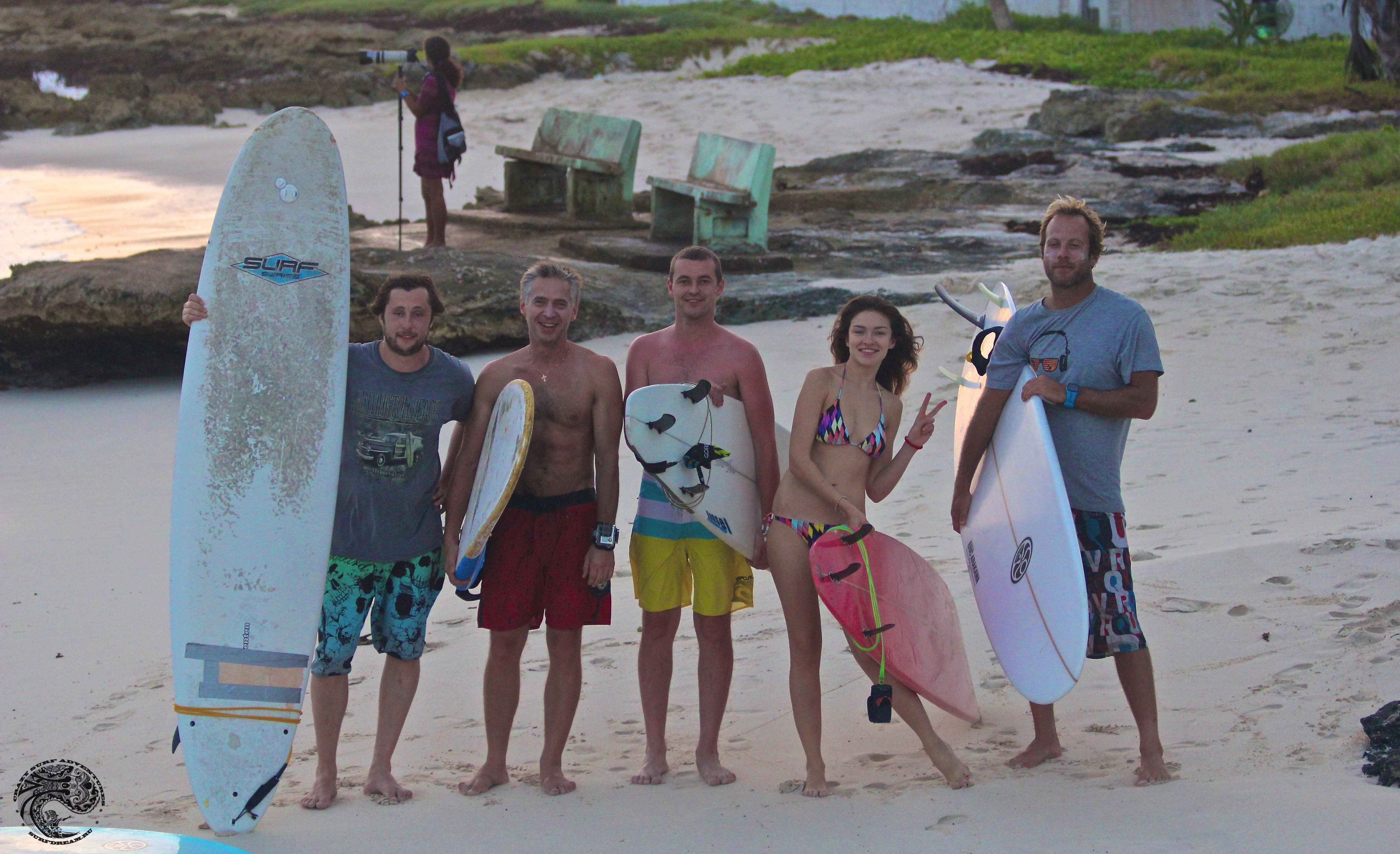 серфовый Новый Год на Барбадосе