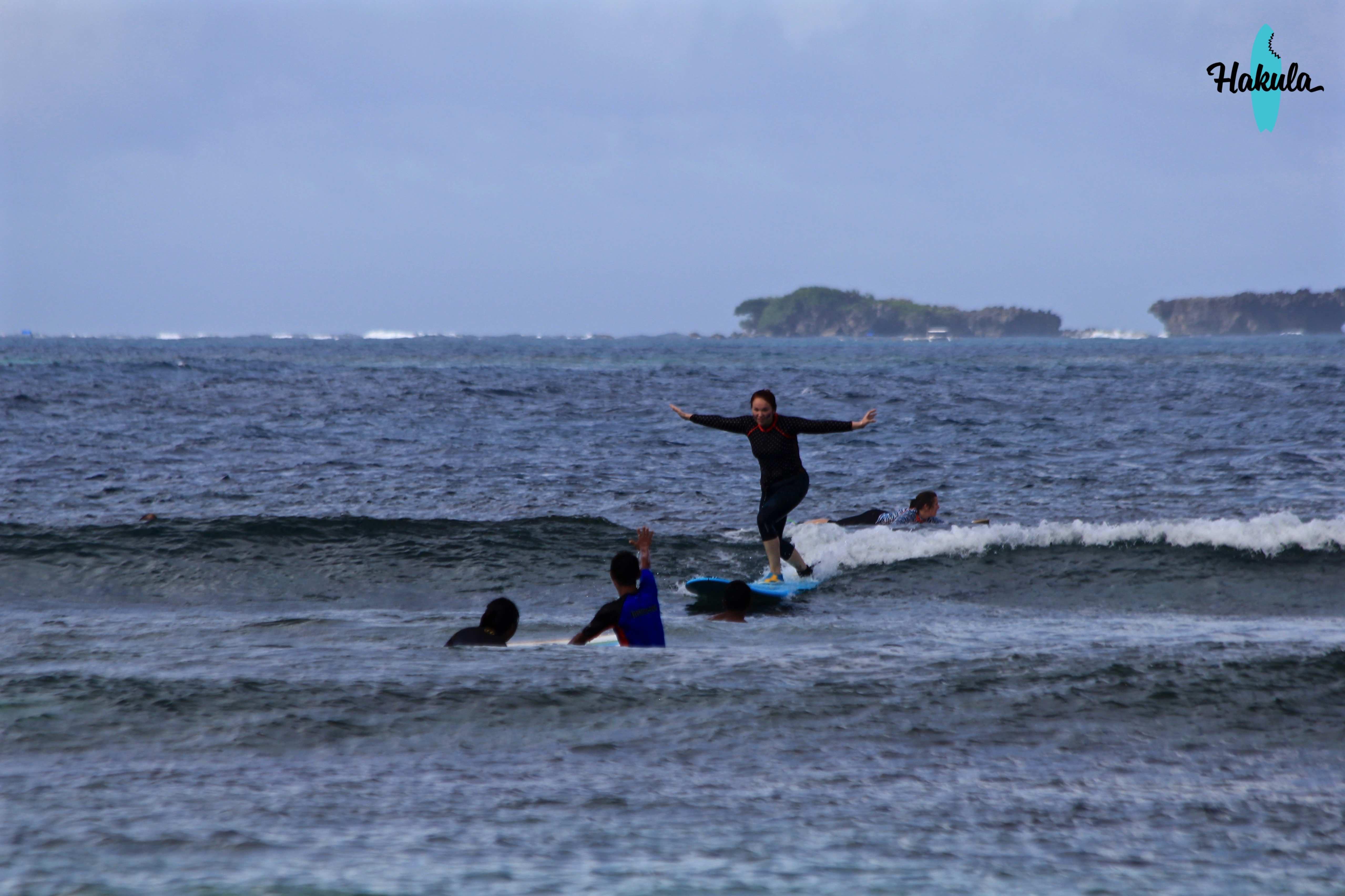 обучение серфингу на Филиппинах