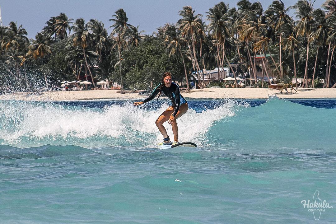 Сёрф-кэмп на Мальдивах