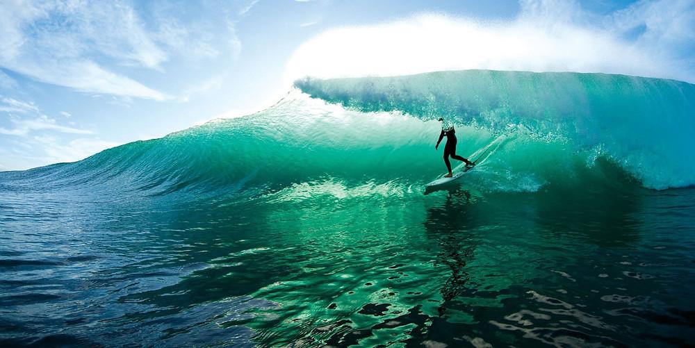 Во время серфинга нет ничего, кроме серфинга