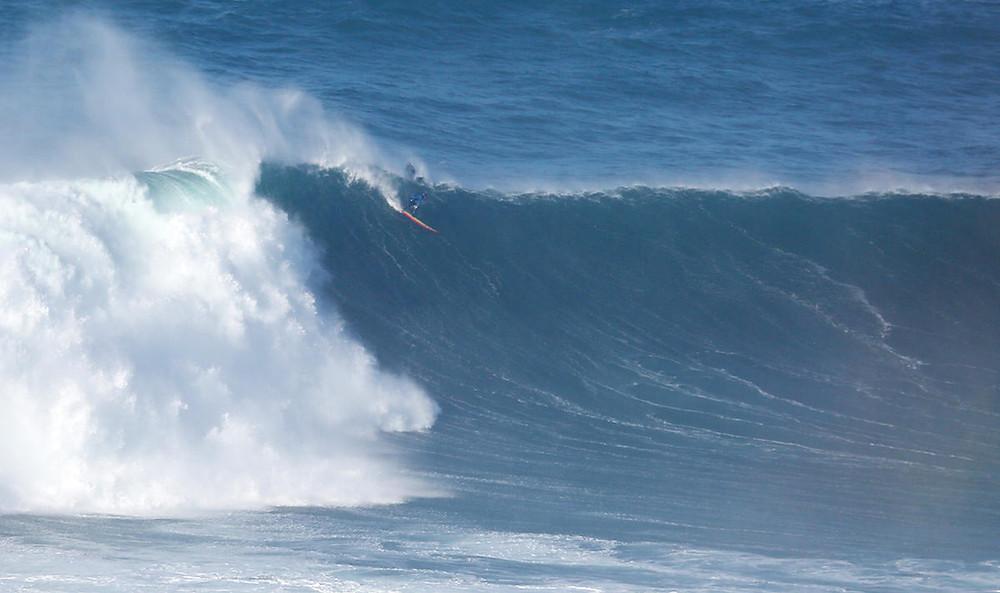 Серфинг на Назаре