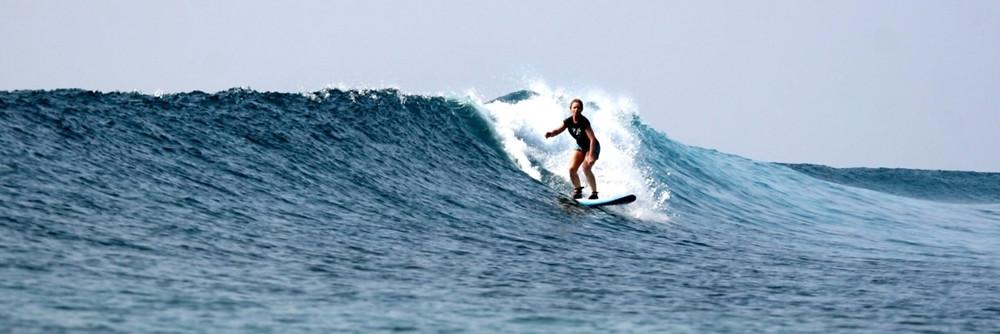 Серфинг на Атоллах Мале