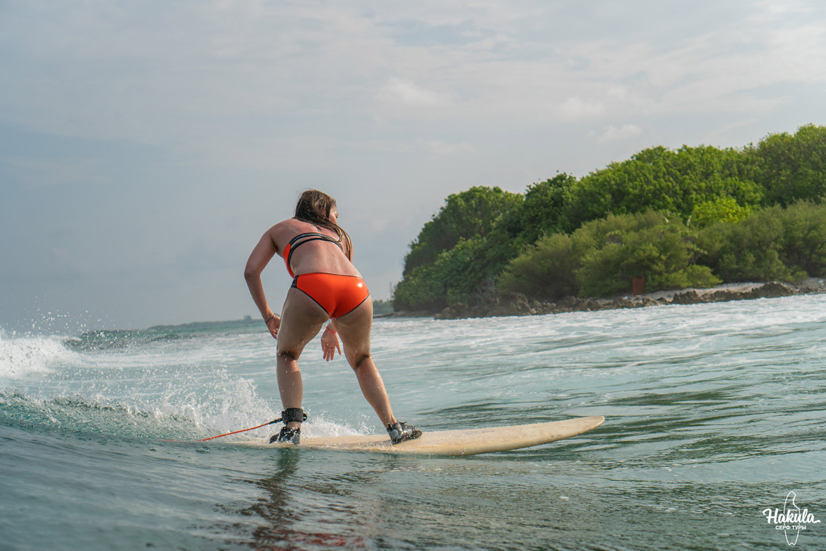 Сёрфинг на Мальдивах
