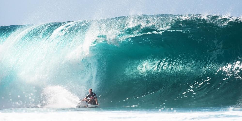 серфинг на Гавайи