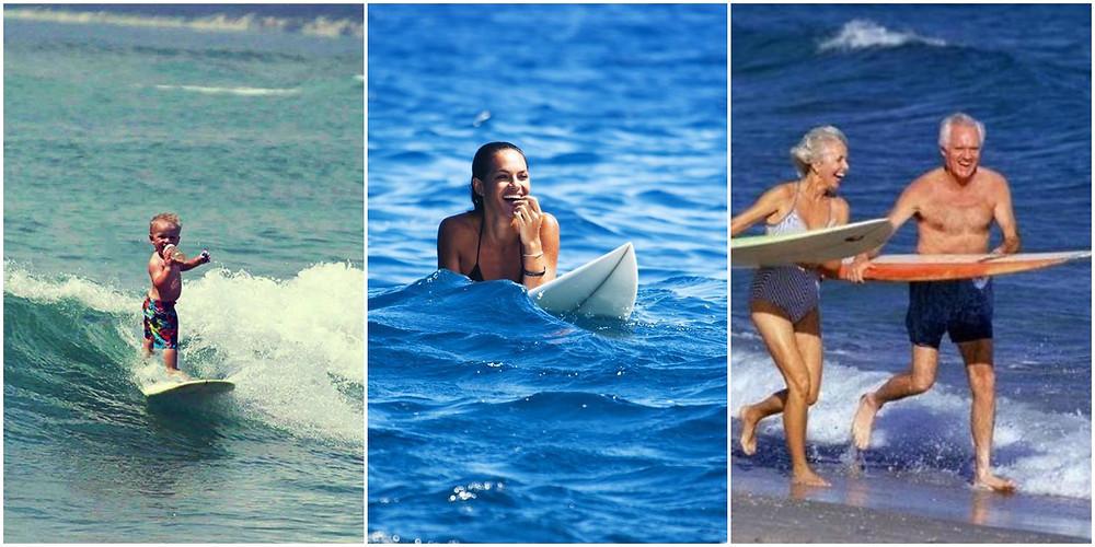 Учиться серфингу можно в любом возрасте