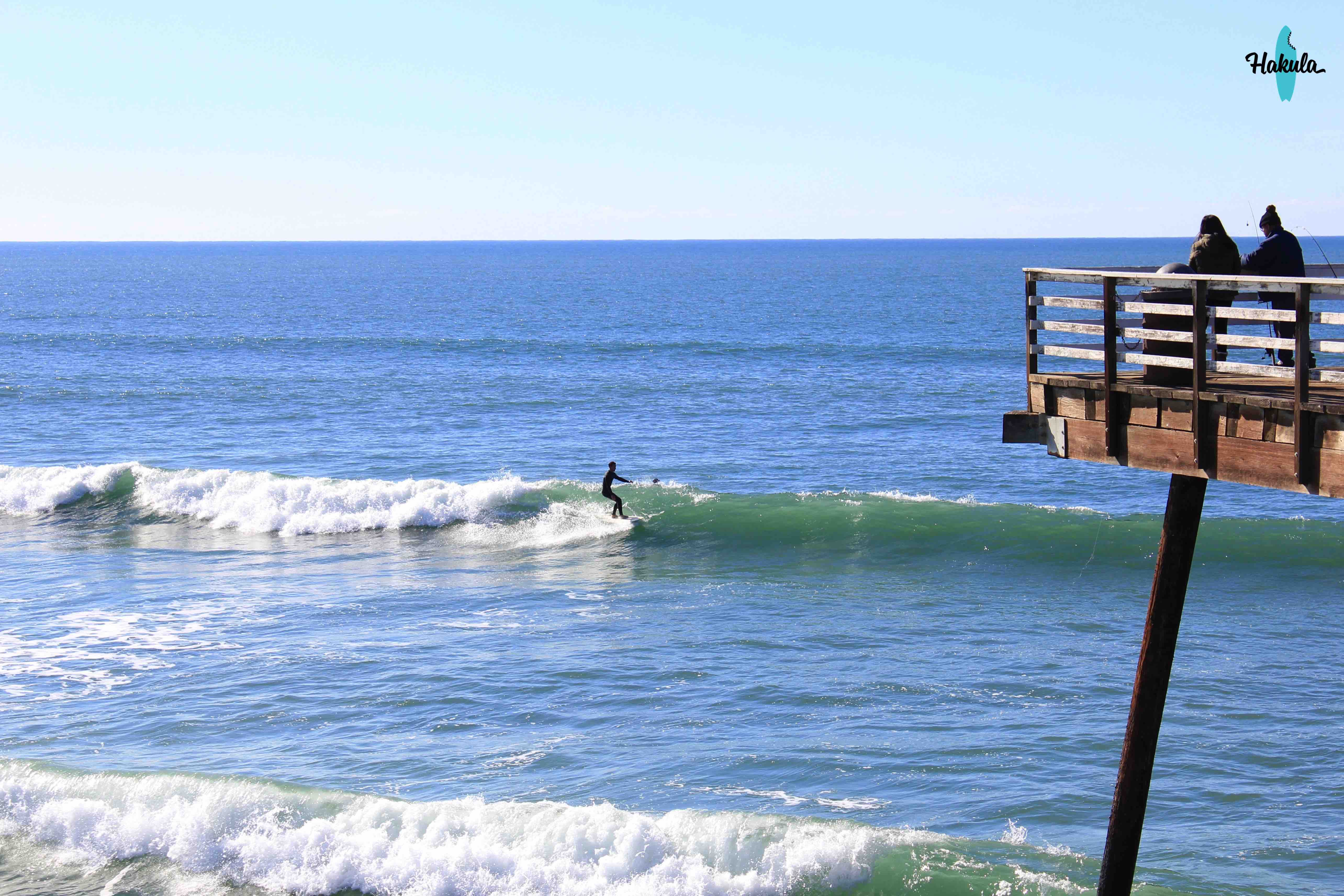 серфинг в Северной Калифорнии