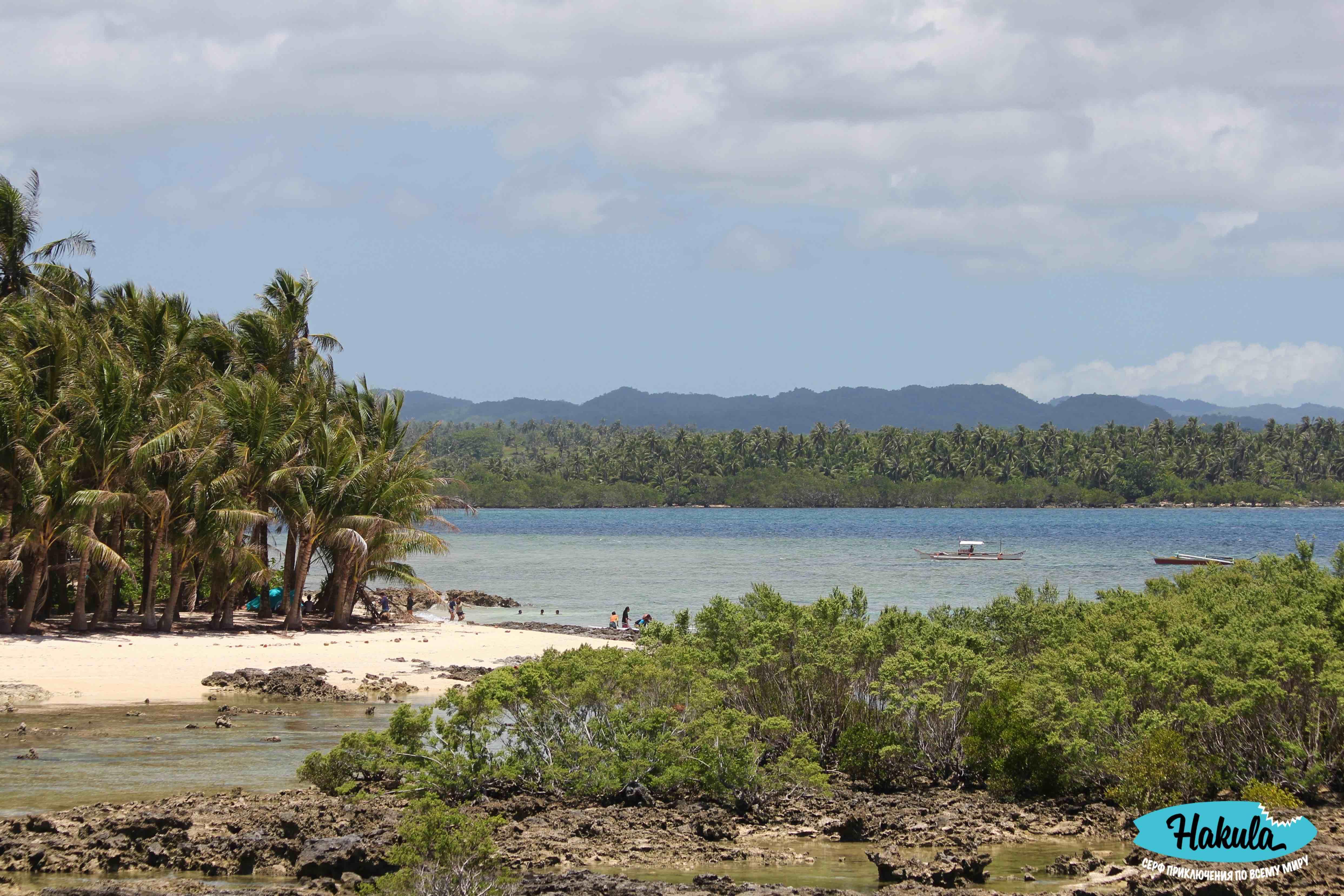 типичный пейзаж острова Сиаргао
