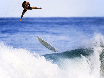Как правильно падать с волны