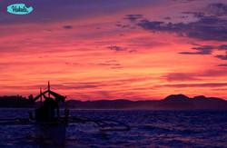 закат на Филиппинах