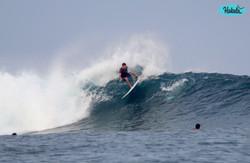пришли хорошие волны для серфинга