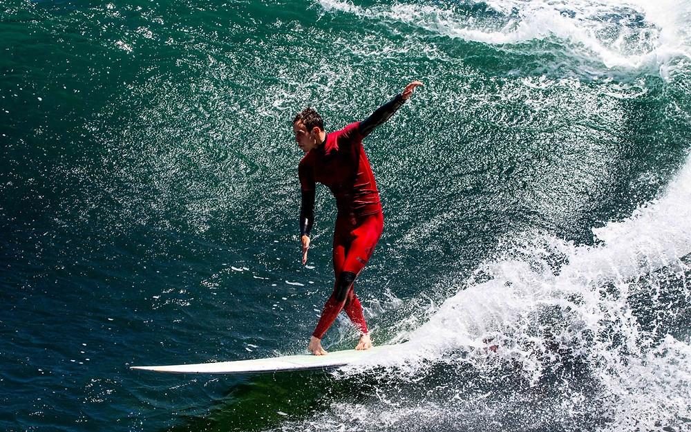 Серфинг в Калифорнии: стиль