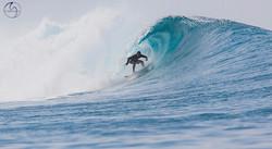 серфинг в трубе