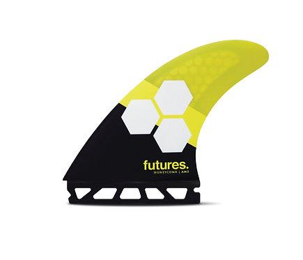 AM2 Honeycomb, thruster, L, black/yellow