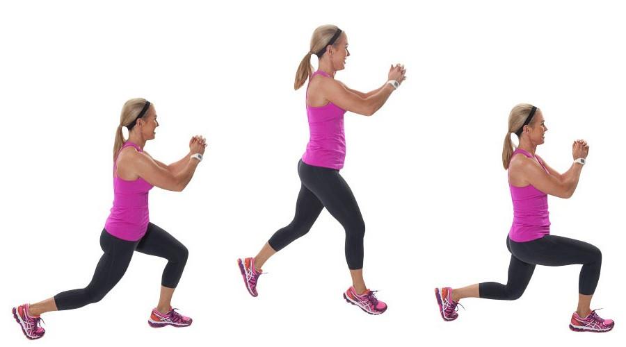 Серф-фитнес упражнения