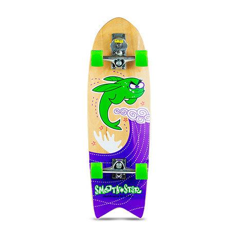 "Сёрф-скейт SmoothStar Flying Fish 32"" (Зелёный)"