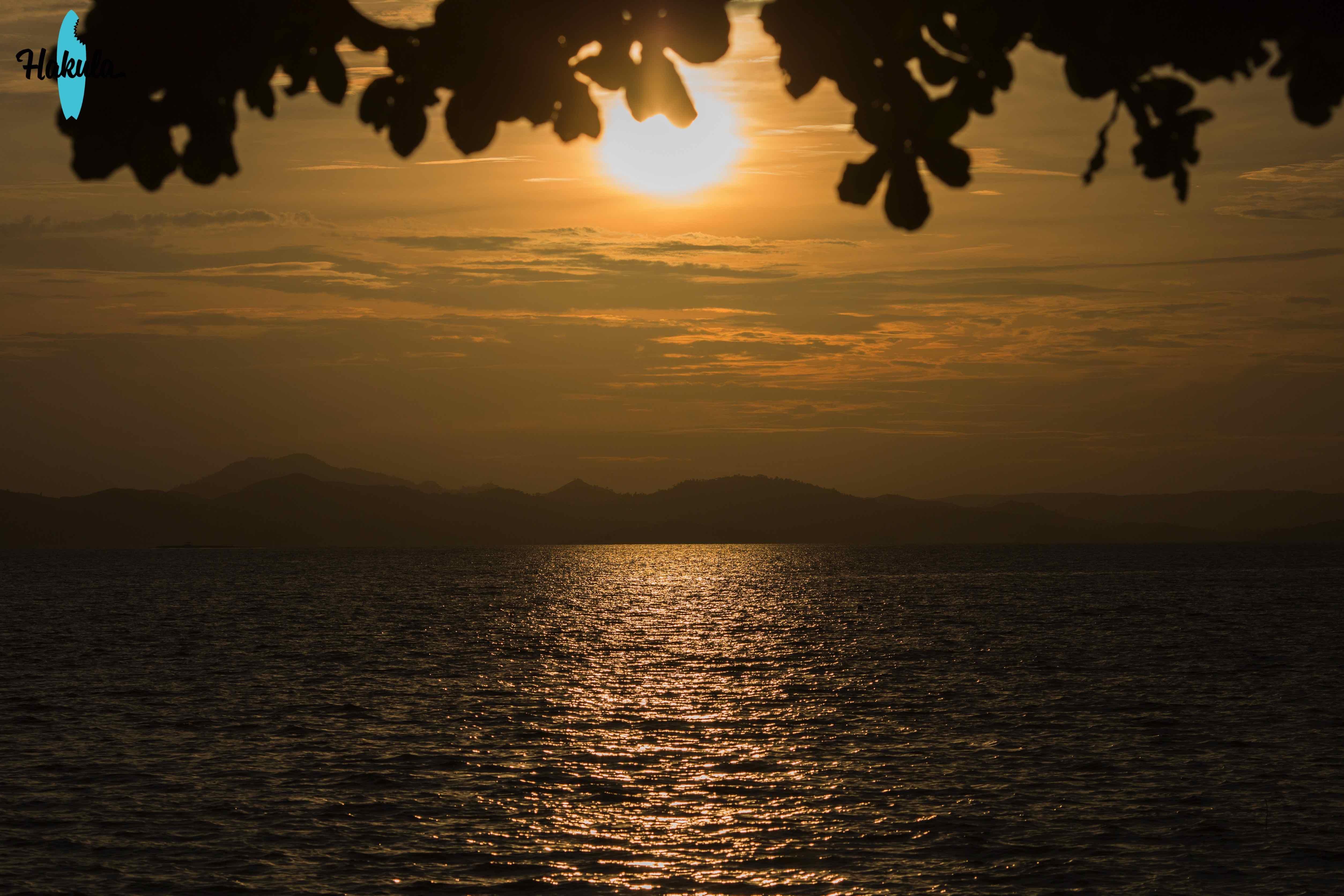 закат на Сиаргао