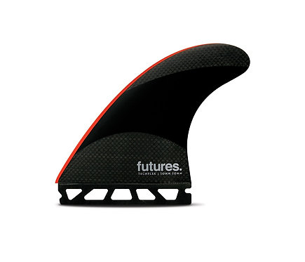 JJF Techflex, thruster, L, black/neon red