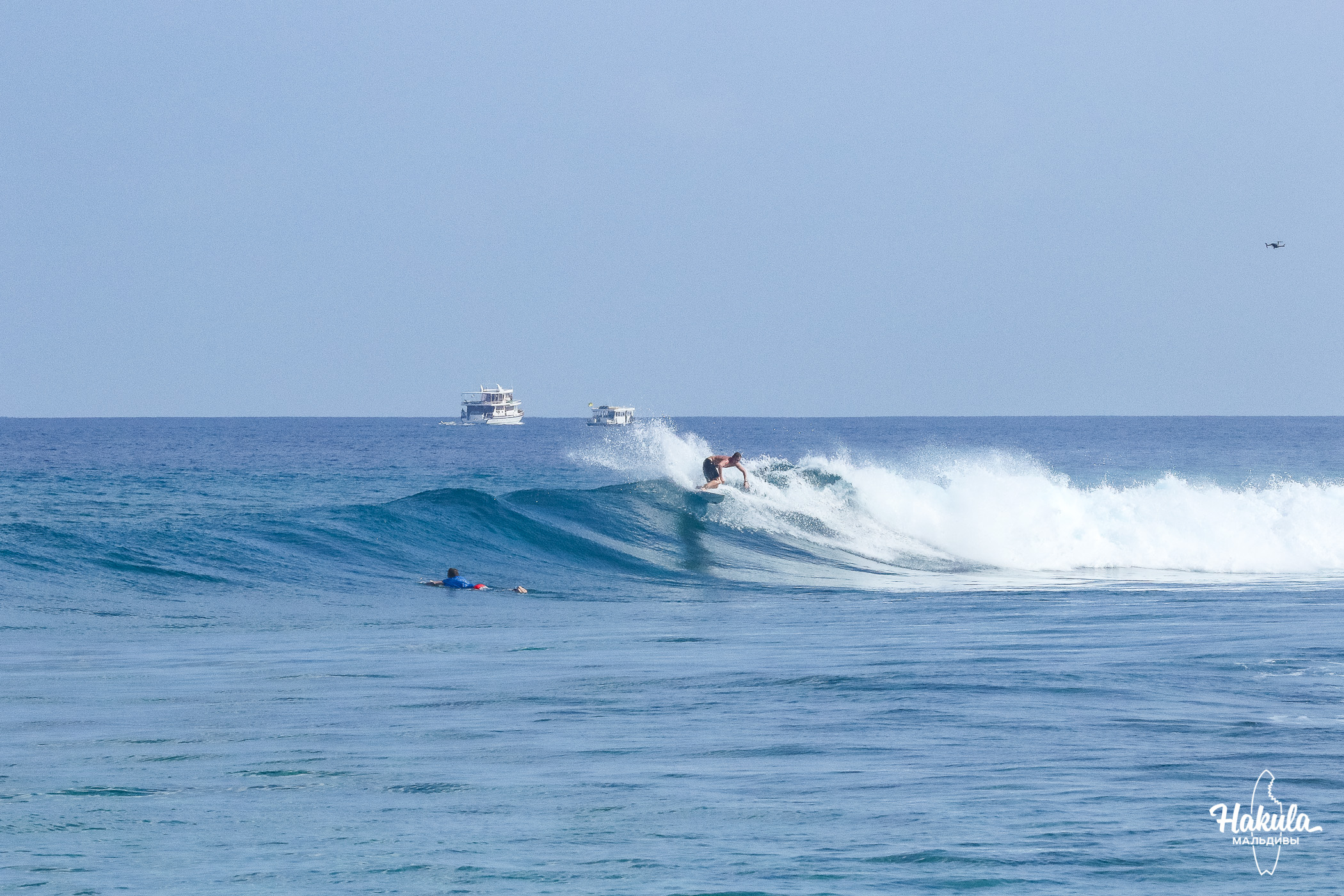 Сёрф-сафари на катамаране май 2019