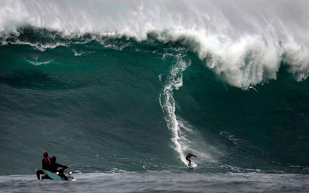 Серфинг в Калифорнии: Бигвейв