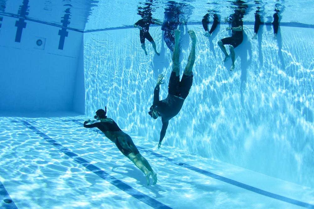 Курс задержки дыхания и сёрф-подготовки в бассейне