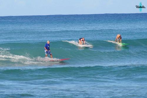Вайкики - лучший гавайский пляж со спотом для новичков