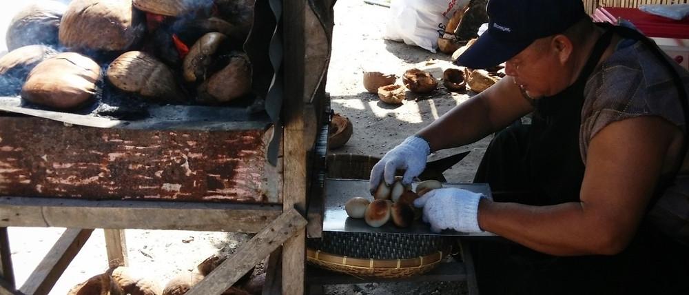 Уличная еда на Сиаргао